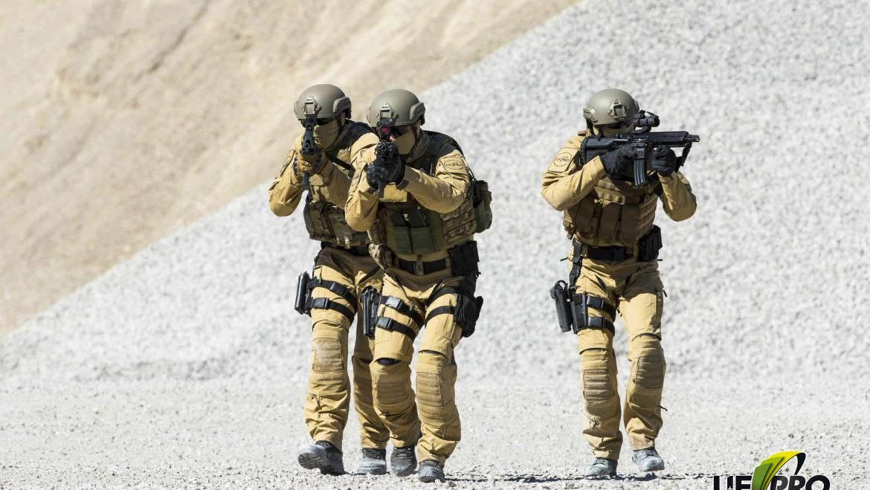 Ropa militar para el invierno