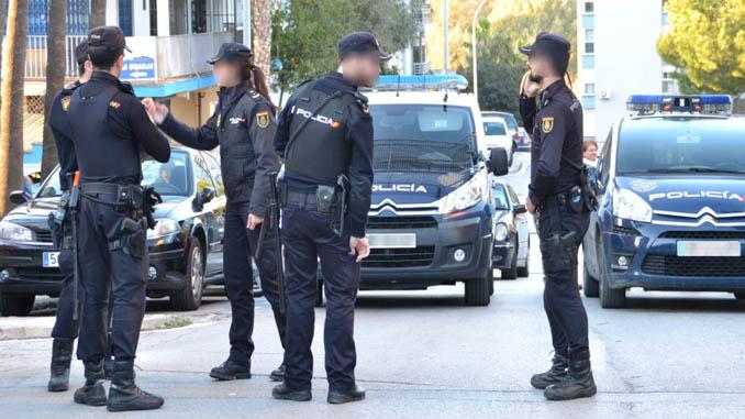 uniforme policial españa