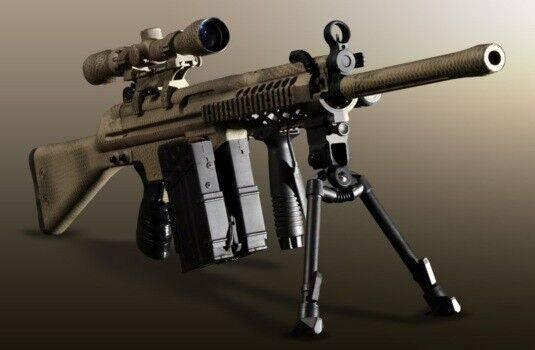 Armamento militar: accesorios de tiro
