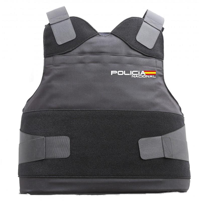 protección antibalas para la policía