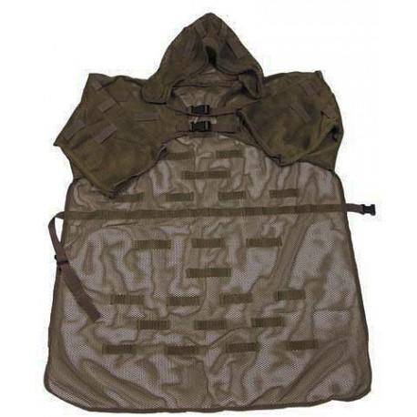 camuflaje militar capa