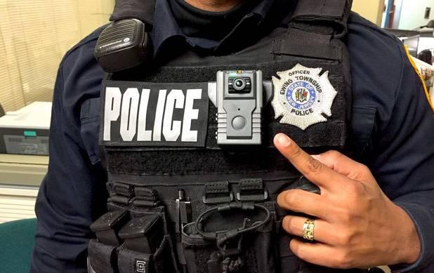 videocámara policial para proteger