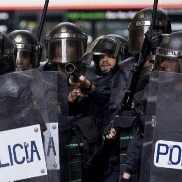 ¿Qué son los antidisturbios y qué material podemos utilizar?