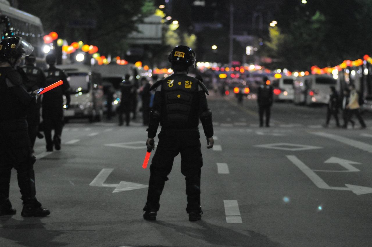 Qué son los antidisturbios