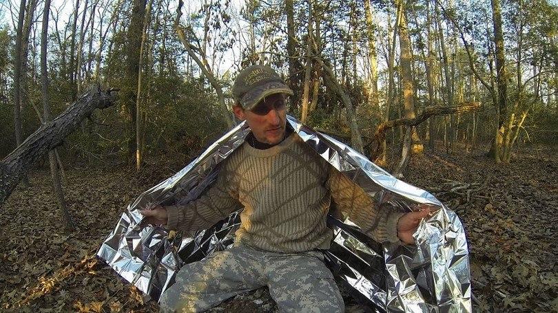 Manta térmica militar del botiquín de primeros auxilios