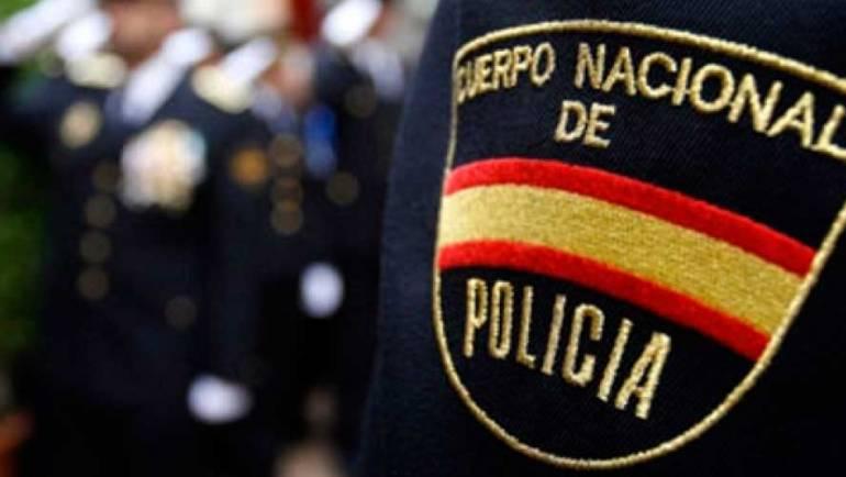 Los emblemas de la policía Nacional