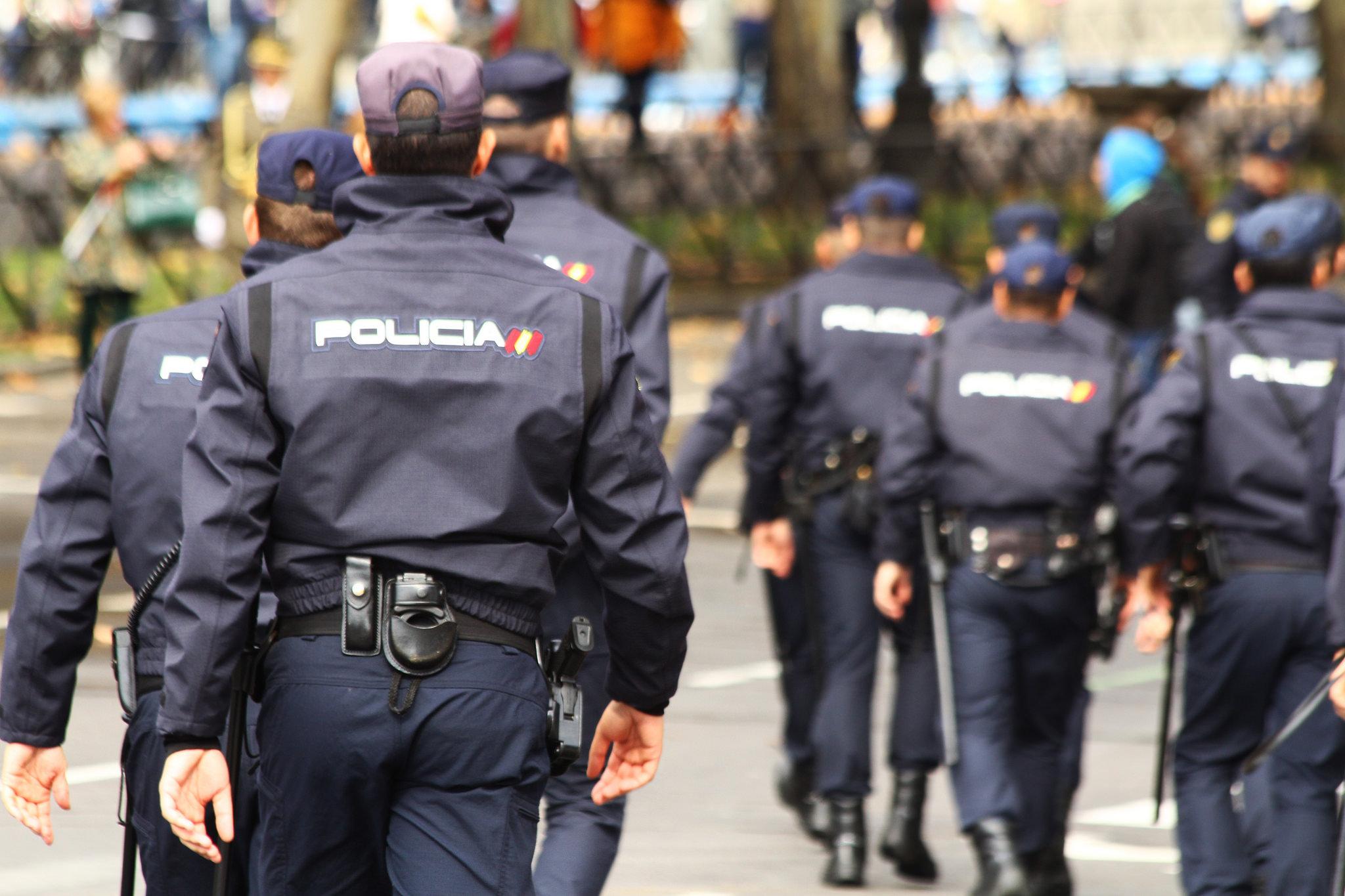 distribuidores de material policial