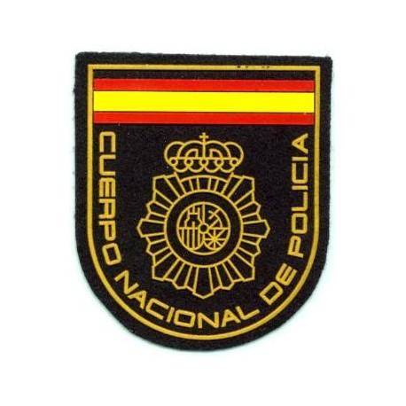 parche cuerpo nacional de policia