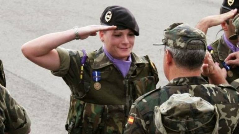Mujer militar: aumenta la presencia femenina en el ejército
