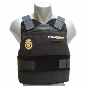 chaleco antibalas policia